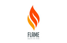 Fire Flame Logo Design Luxury ...