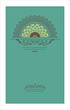 Vector vintage decorative card pattern design