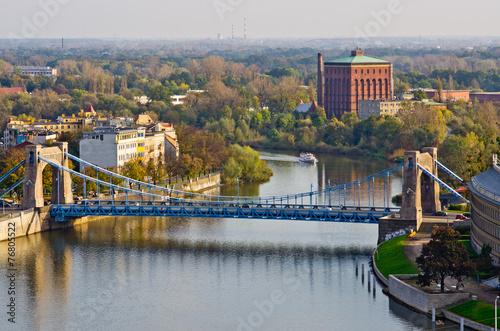 most-grunwaldzki-z-wiezy-katedry-wroclaw-polska