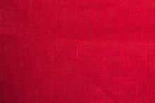 Red Cloth Fabric Background Cl...
