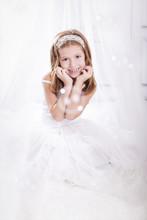 Prinzessin Mit Seifenblasen