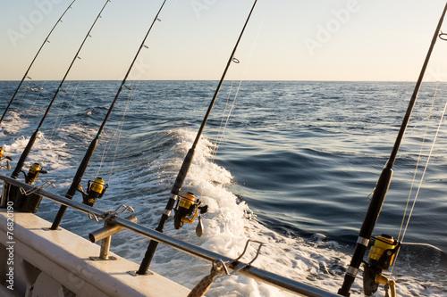 Poster Peche Fishing Charter
