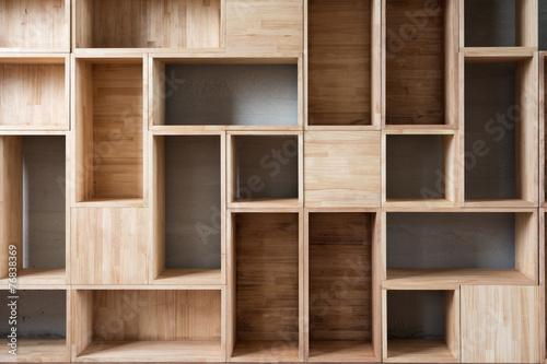 Photo Empty wooden