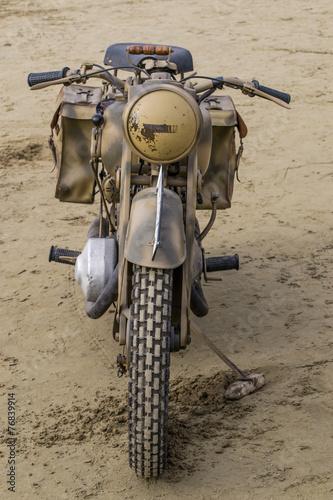 Fotografie, Obraz  Motocicletta dell'esercito americano, seconda guerra mondiale