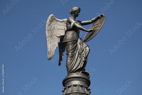 Fotografija  Goddess of Victory. Memorial to the Battle of Kulm.