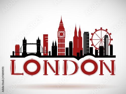 napis-london-wraz-z-najpopularniejszymi-atrakcjami-w-londynie