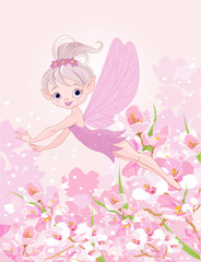 Fototapeta Flying Pixy Fairy
