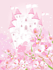 fototapeta bajkowy zamek