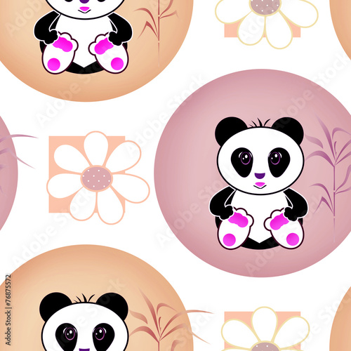 bezszwowy-asia-pandy-niedzwiedz-zartuje-ilustracyjnego-tlo-wzor