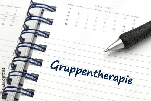 Fotografie, Obraz  Gruppentherapie - konzeptionell