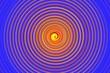 Leinwandbild Motiv abstract colorful spin