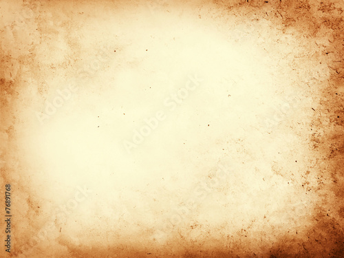 canvas print motiv - Kaesler Media : Old dirty parchment paper background texture