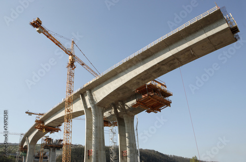 Keuken foto achterwand Bruggen concrete bridge