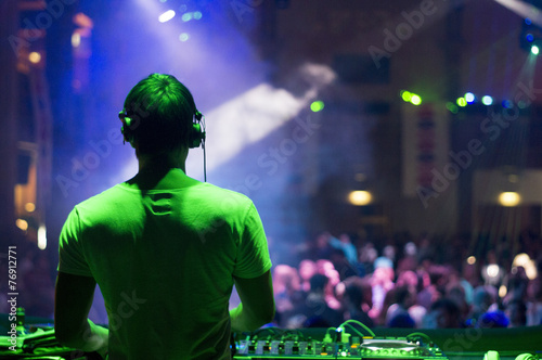 Fotografie, Obraz  DJ