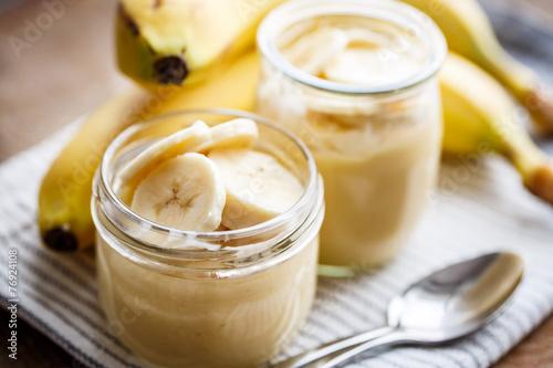 Fotografía Banana pudding for breakfast