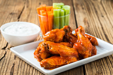 Buffalo Chicken Wing With Caye...