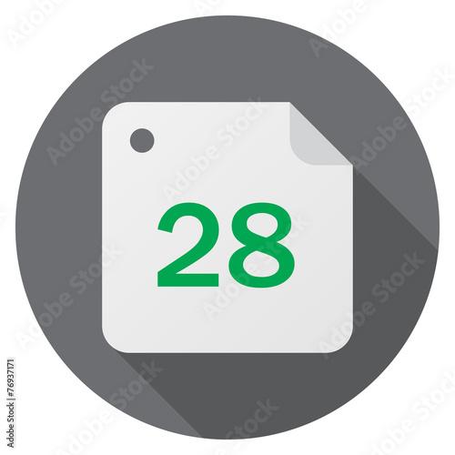 Fotografia  Calendar, date, 28 day month