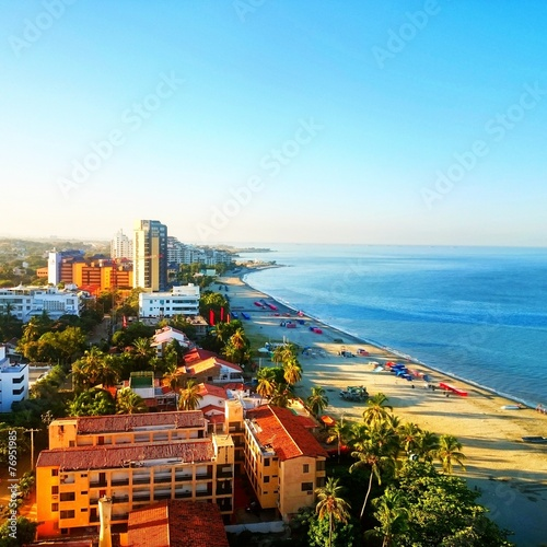 Fotografía  Amanecer en Santa Marta Colombia
