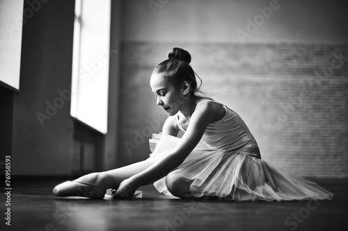 Fotografie, Obraz  Little ballerina
