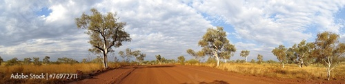 Foto op Canvas Australië Karijini National Park, Western Australia - Panorama