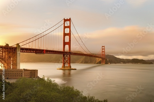 Tuinposter San Francisco Golden Gate Bridge, San Francisco, California