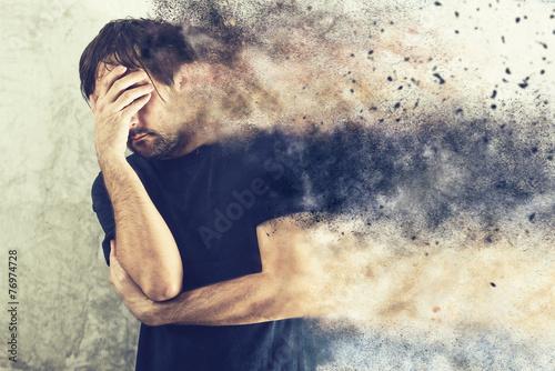 Fotografía  Depressed Man Portrait
