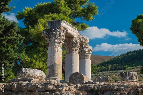 Valokuva  Octavia Tempel, Korinth, Peloponnes, Griechenland