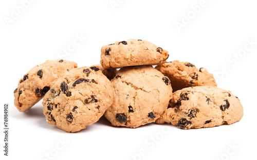 Tuinposter Koekjes Cookies with raisins