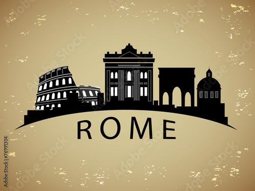 Photo Rome City skyline