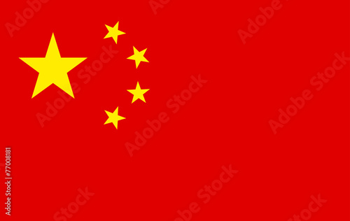 Photo  Flag of china
