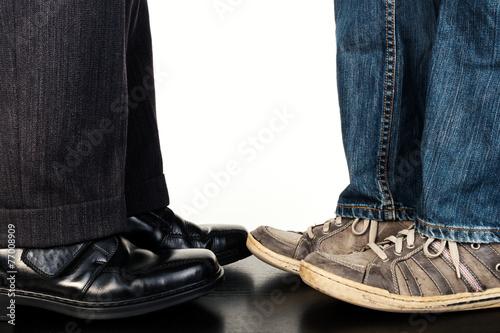 Fotografie, Obraz  Kleidung Business Freizeit