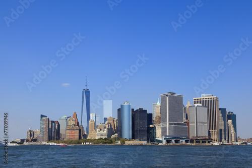 Tuinposter New York City マンハッタン島