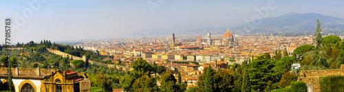 Foto op Plexiglas Toscane Florence Tuscany panorama
