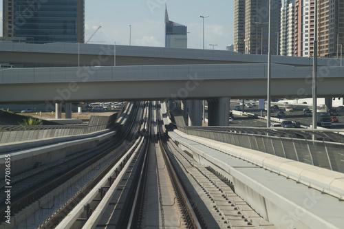 Photo  Dubai railway