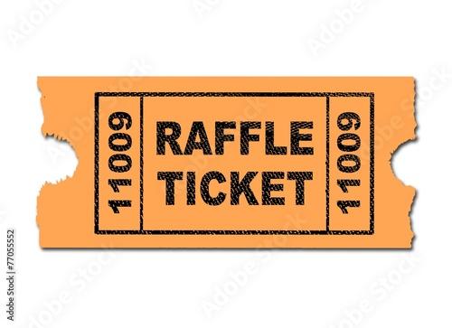 Fotografía  Raffle Ticket