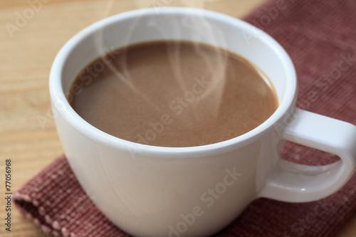 Foto op Plexiglas Chocolade coffee cub