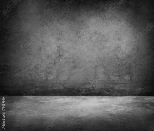 Poster Betonbehang Grunge Concrete Material Background Texture Wall Concept