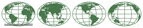 Fototapeta Globes obraz