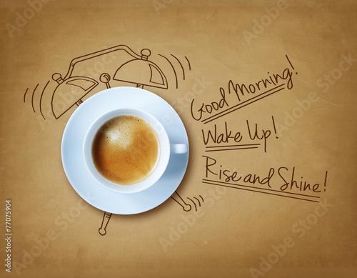 Fototapeta Good morning coffee obraz