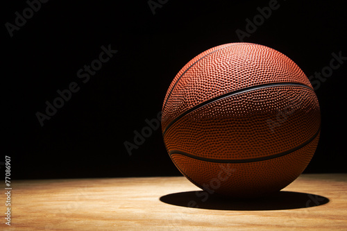 Photo  Basketball on Hardwood 2015