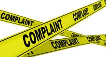 Жалоба (complaint). Желтая оградительная лента