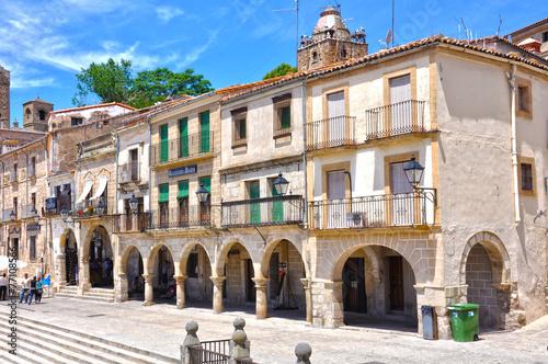 Plaza Mayor de Trujillo, Cáceres, España