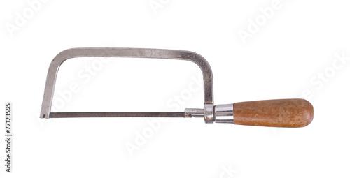 Small rusty hacksaw Canvas-taulu