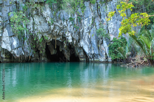 The Underground River of Puerto Princesa, Palawan, Philippines Canvas Print