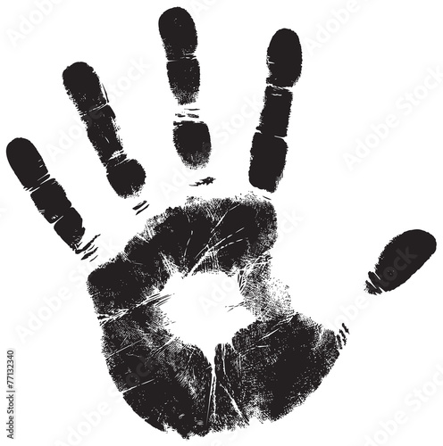 Fotografia, Obraz  handprint