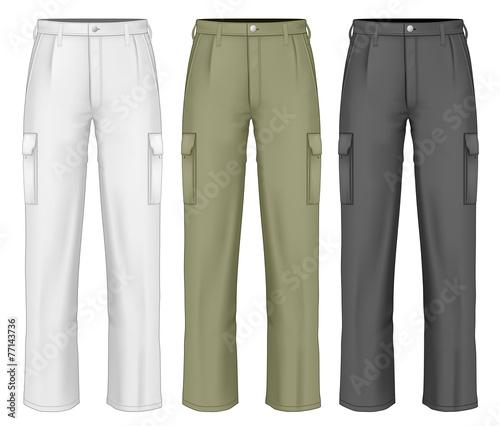Fotografie, Obraz  Men work trousers.