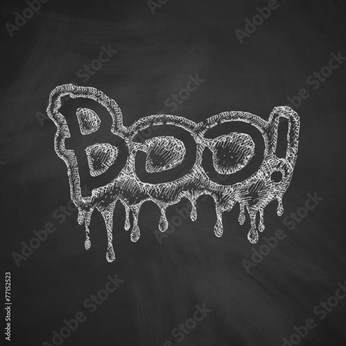 Fotografia, Obraz  boo icon