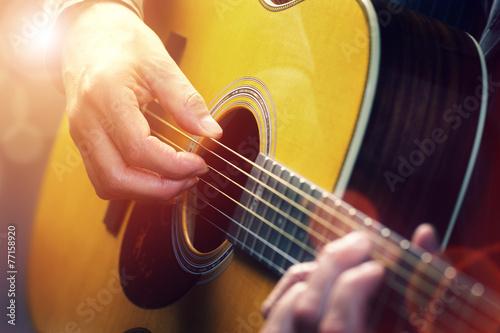 Photo  Guitarist