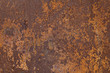 canvas print picture - Rusty metal texture