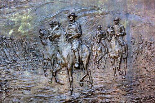 Fotografie, Obraz  General Sherman Civil War Memorial Washington DC